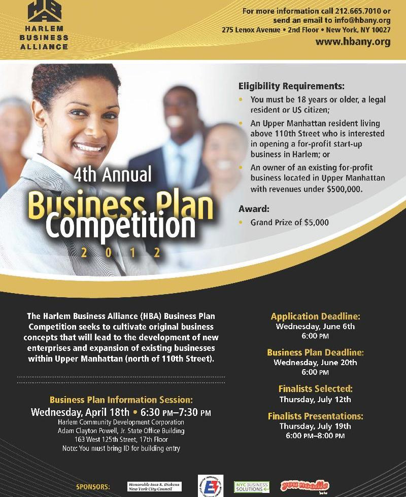 business plan competition kenya 2012
