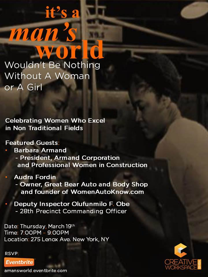 It's a Man's World 031915