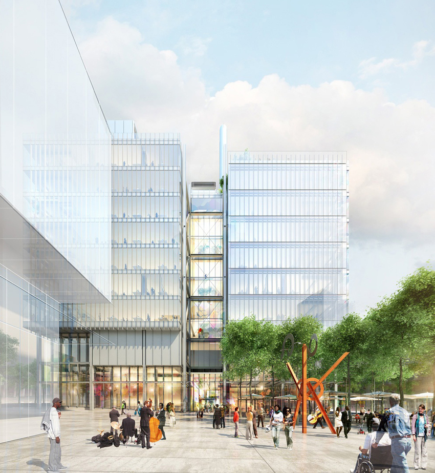 Manhattanville Retail - JLG Image West View